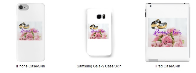 Romance Lover Cases and Skins